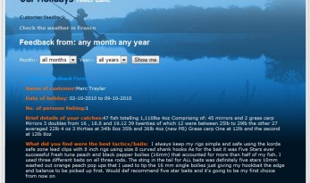 ANGLING LINES CARP WEBSITE DEVELOPMENTS