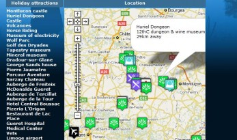 POINTS OF INTEREST NEAR OUR CARP FISHING VENUES IN FRANCE