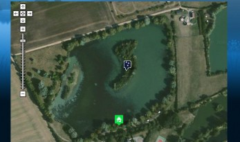 ZOOMABLE AERIAL MAPS OF OUR FRENCH CARP LAKES