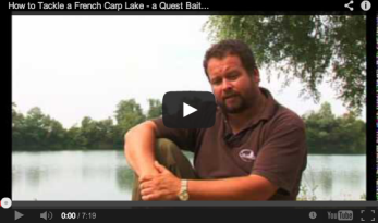 CARP VIDEO – HOW TO TACKLE A FRENCH CARP LAKE