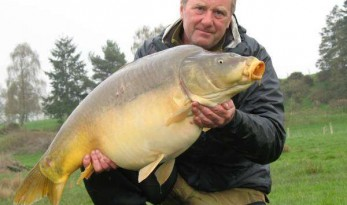 36lb Sapphire Mirror Carp from France
