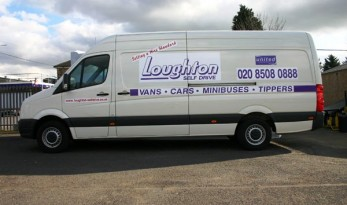 Van hire for carp anglers