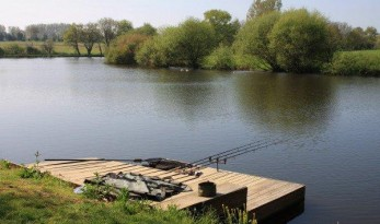 Carp Fishing Swim in France