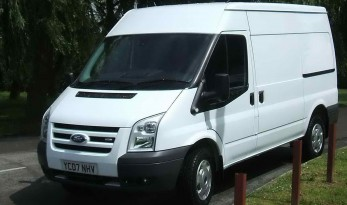 Transit van for carp fishing