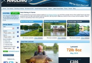 Angling Lines website