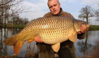 42lb common carp Watersmeet