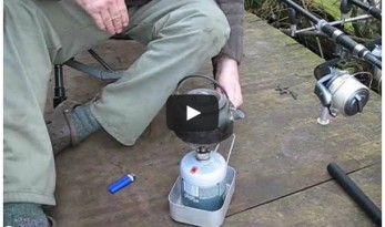 Carp fishing tip getting best out of a gas bottle in winter