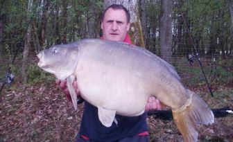 53lb carp from France boux