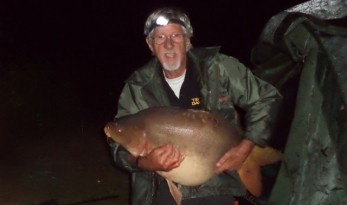 52lb Golden Oak Mirror Carp