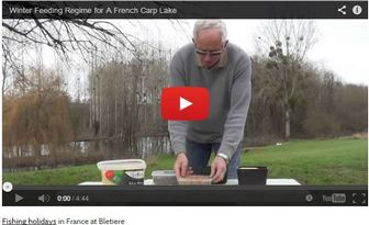 WINTER FEEDING REGIME FOR A CARP LAKE