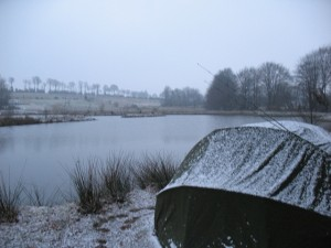 Carp Fishing in the Winter
