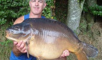 40lb carp from France at Vaux