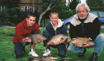 river carp fishing