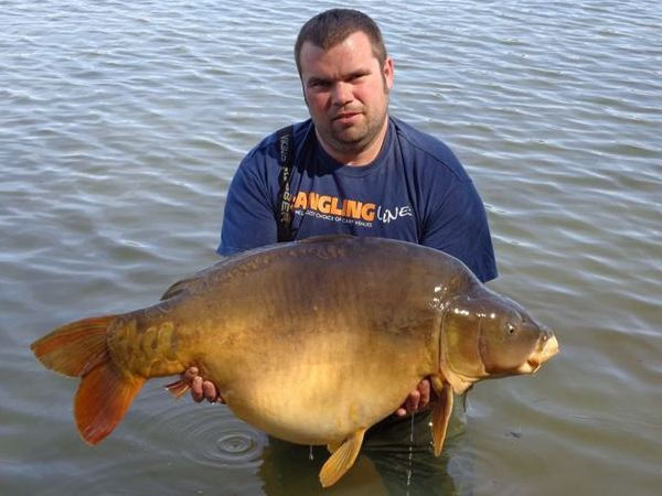 Boux Carp Fishing in France