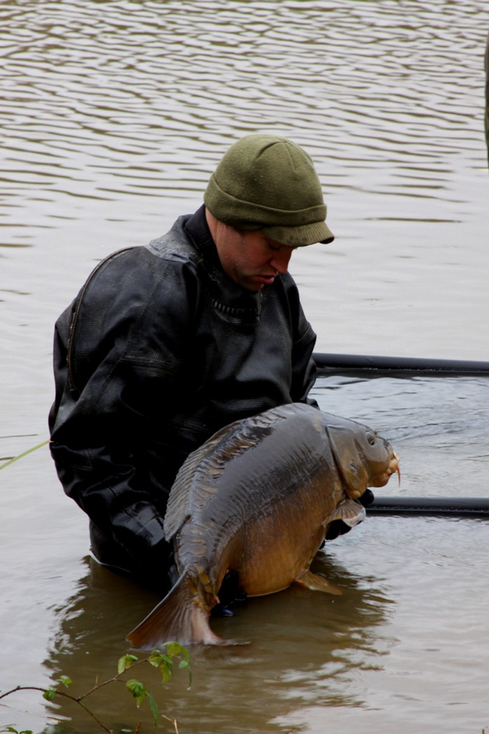 Castle Lake Carp Netting blog