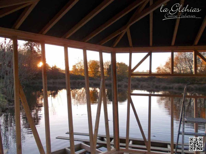 glehias carp fishing lake with cabin blog