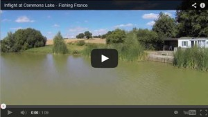 Fishing France at Commons Lake
