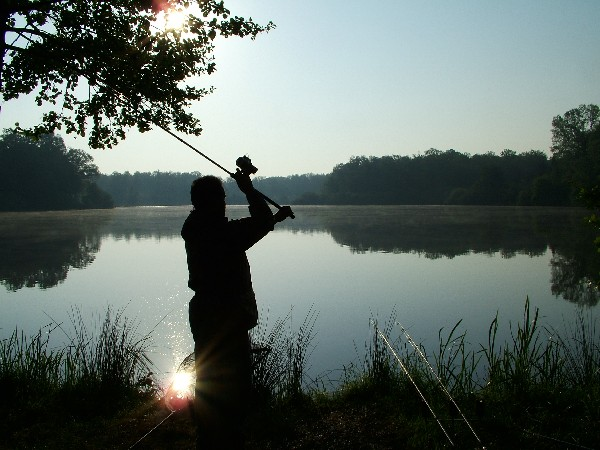 re casting your rods carp fishing
