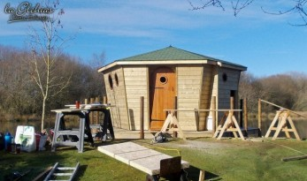 glehias carp fishing with cabin