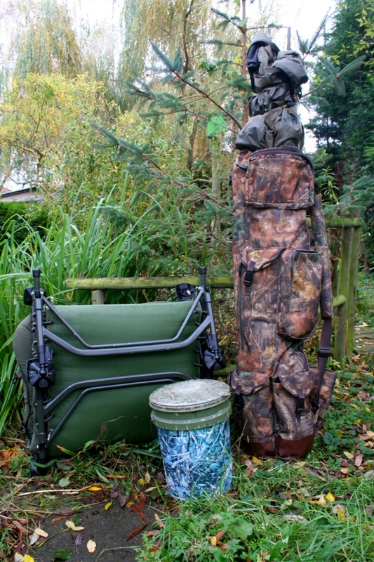 what to take on an overnight carp fishing session