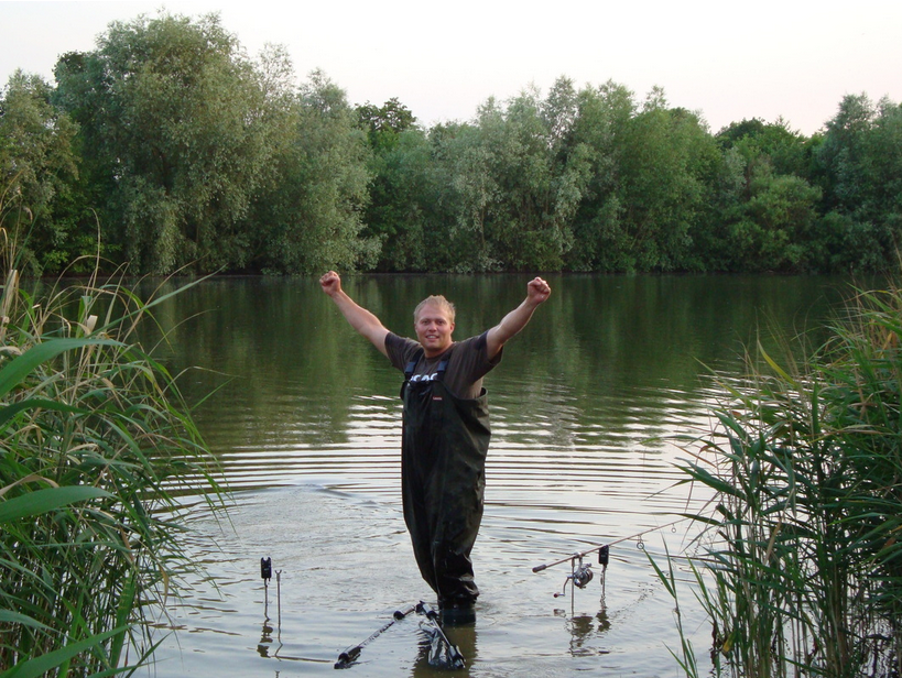 Interview with Carp Angler Carl Sharp