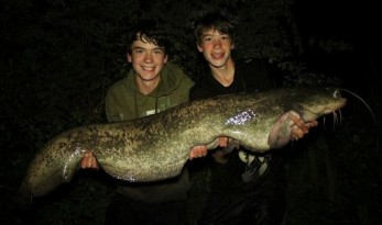 CARL AND ALEX CARP FISHING