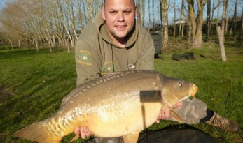 carp fishing in france at lillypool