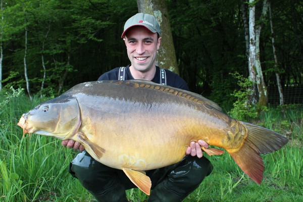 Carp Fishing in France at Boux