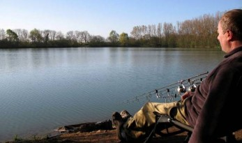 Carp Fishing in France at Blue Lake