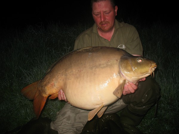 Big Carp at Beaurepaire French Carp Lake
