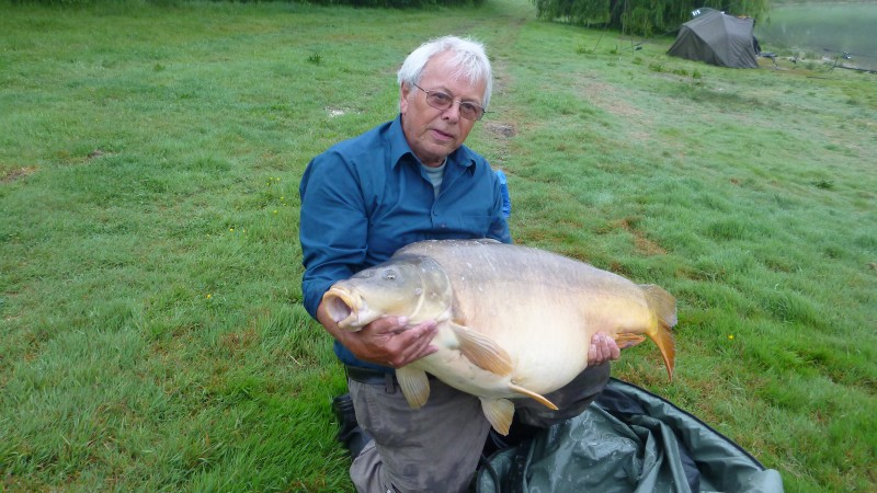 Beaurepaire French Carp Lake near Calais