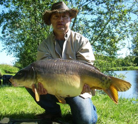 carp fishing in france ta alder
