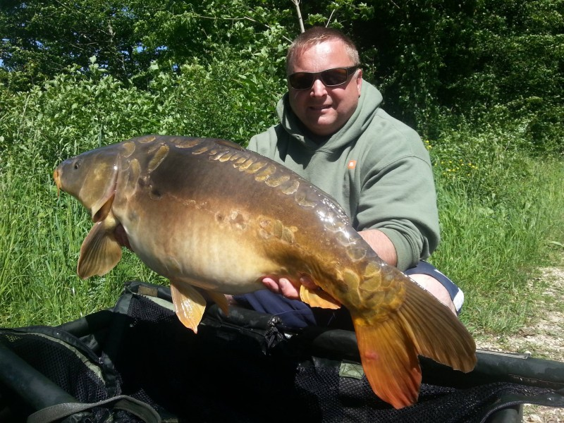 Carp Fishing in France at Brie