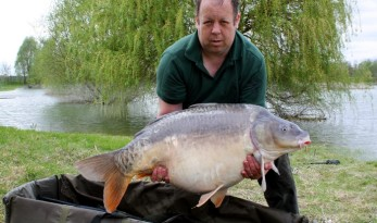 Beaurepaire carp fishing lake near calais