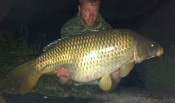 French carp fishing at Jonchery carp lake