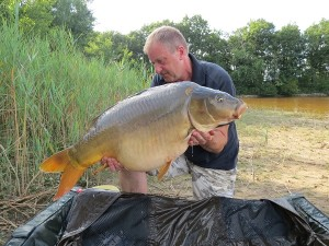 One of my many carp caught on distance leads at Nautica