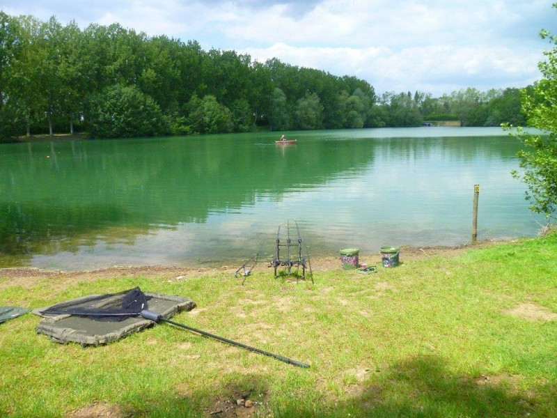 Blue Lake French Carp Fishing