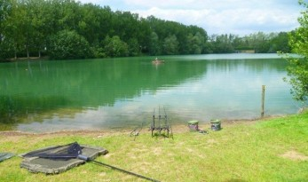 Fishing France at Blue Lake Carp