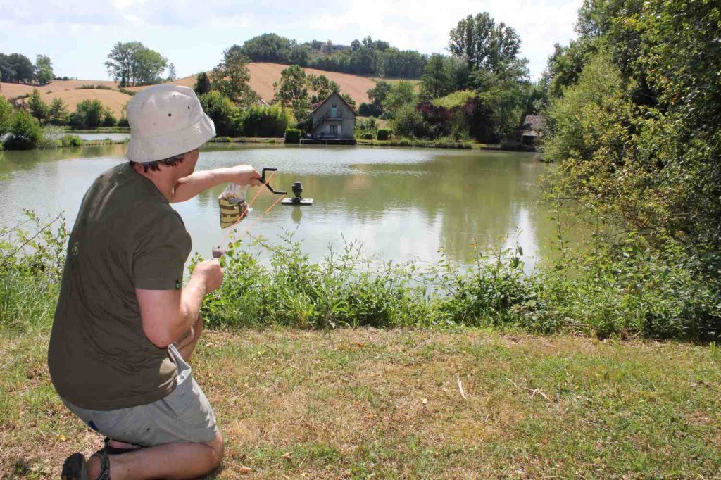 Mas Bas carp fishing holidays with accommodation