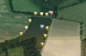 alder carp lake map