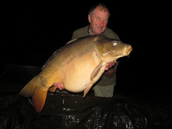 A Vaumigny 39lb 14oz carp. Cracking water with some massive specimens.