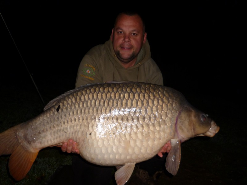 French carp fishing at Lillypool