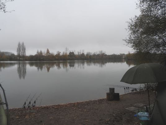 winter carp fishing at laroussi
