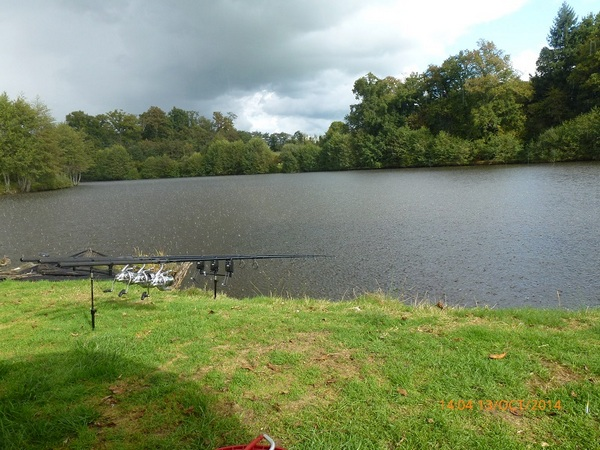 Carp fishing in France with accommodation at Golden Oak