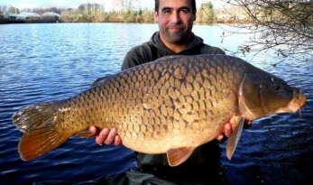 Carp fishing in France at Laroussi