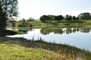 carp fishing in france at Beaurepaire