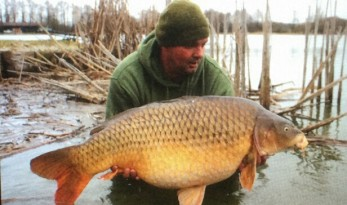 carp fishing in france at Jonchery