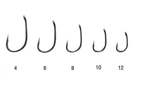 Small carp hooks or big carp hooks which is more for Fishing hook size chart actual size