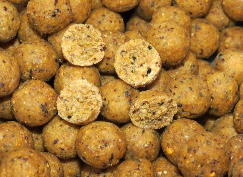One of the HG range from Quality Baits.Having full confidence in your bait is very important.