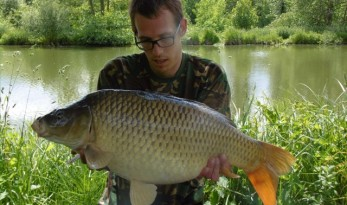 Carp fishing in France with accommodation at Bletiere